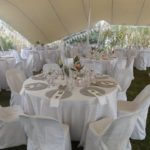 du Vlei Bedouin tent outdoor wedding