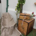 du Vlei wedding decor, wheelbarrow