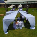 du Vlei outdoor wedding reception