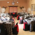 du Vlei long table indoor wedding