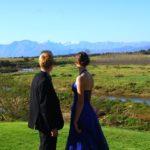 du Vlei views of mountain, river, vineyards