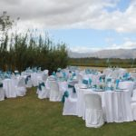 du Vlei outdoor wedding & reception on Berg River
