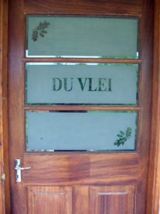 Du Vlei accommodation, cottage