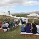 du Vlei outdoor wedding ceremony